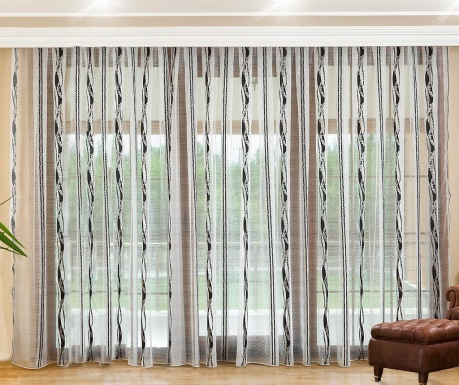 Curtain Beryl Black 200x260 cm