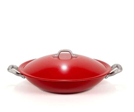 Set wok tava  s poklopcem i lopaticom Easy Chef