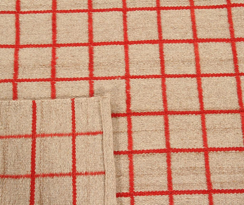 Tepih Kilim Box Red 100x160 cm