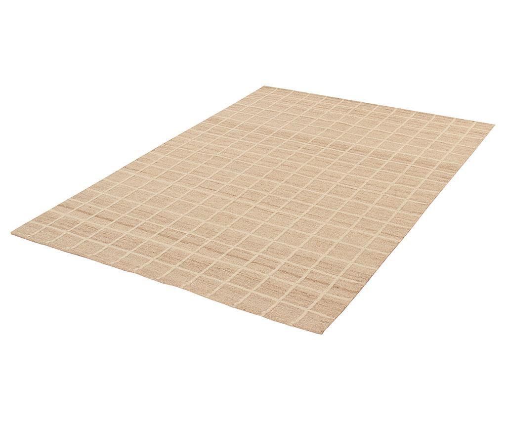Tepih Kilim Box Ivory 100x160 cm