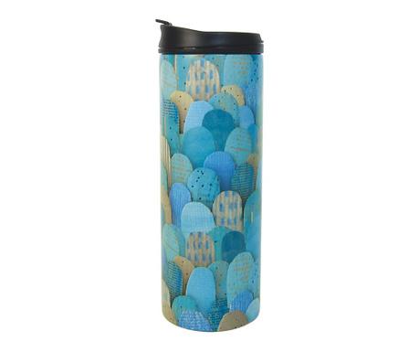 Cana calatorie Turquoise Mounts 400 ml