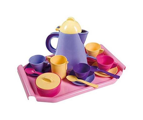 Set pentru ceai de jucarie 18 piese English Tea