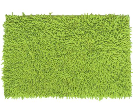 Covoras de baie Shaggy Green 40x60 cm