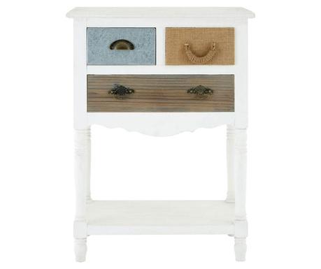 Stolik z 3 szufladami Weymouth