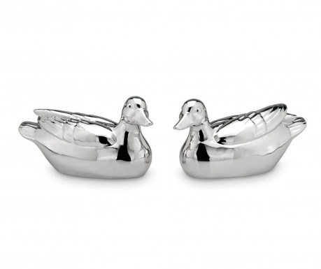 Set 2 decoratiuni Duck Pair Big One