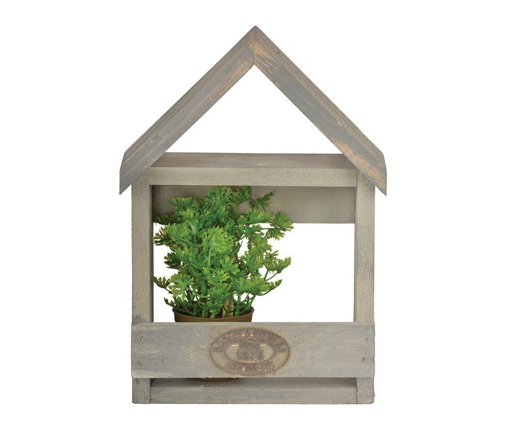 Stensko držalo za cvetlični lonec Grow House S