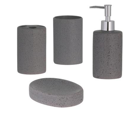 Zestaw 4 akcesoriów łazienkowych Colmar