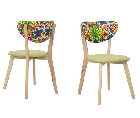 Zestaw 2 krzeseł Hippie