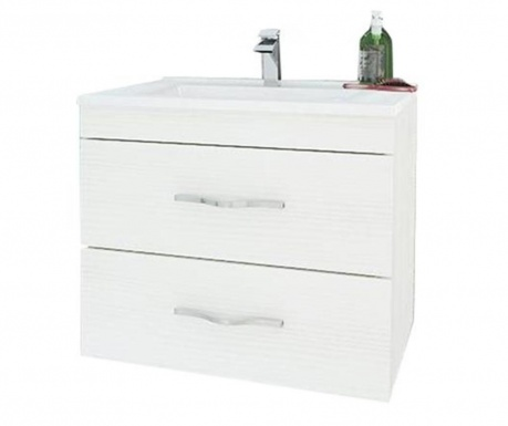 Set masca si lavoar Corallo White