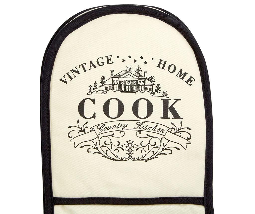 Dvojna kuhinjska rokavica Vintage Home Cream