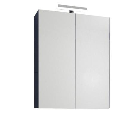 Шкафче с огледало и с LED Fly Dark Blue
