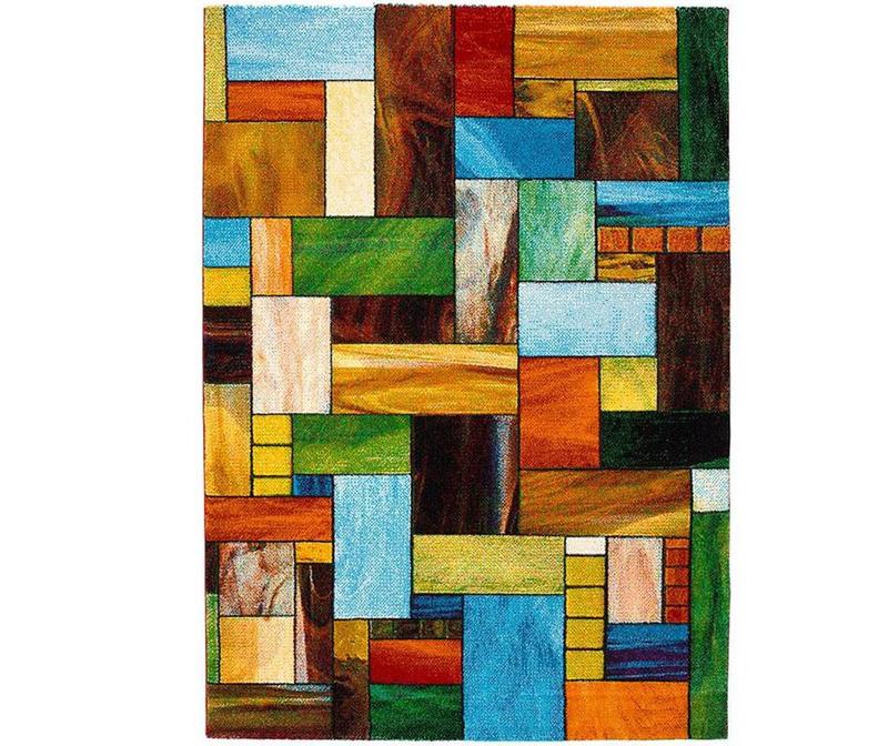 Preproga Rectangles 60x120 cm