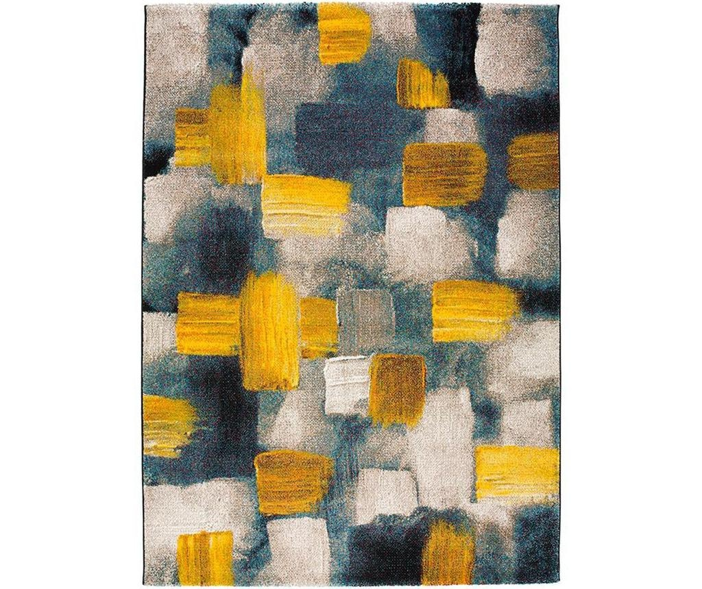 Preproga Squares Yellow 120x170 cm