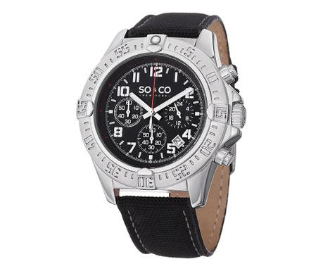 Ανδρικό ρολόι χειρός So&Co Yacht Timer Silver