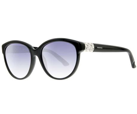 Swarovski Round Black Női napszemüveg