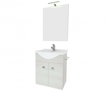 Zafirro White 3 darabos Fürdőszobai bútor szett