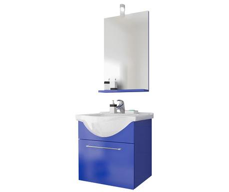 Ginerva Blue 3 darabos Fürdőszobai bútor szett