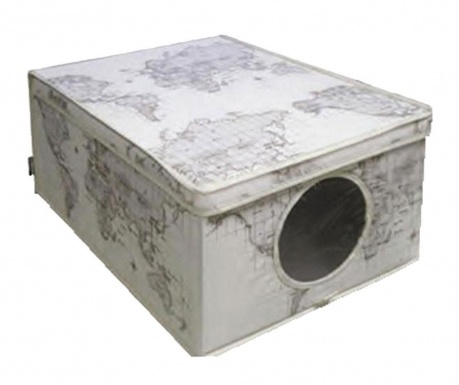 Storage box with cover  Maps