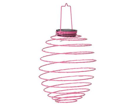 Solární lampa Round Purple