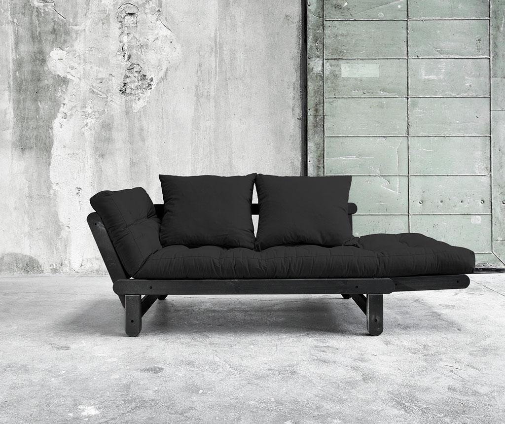 Sofa extensibila Beat Black and Grey