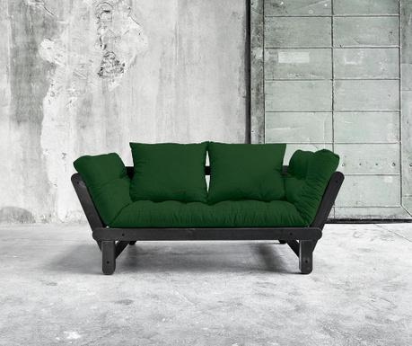 Kauč na razvlačenje Beat Black & Botella 75x200 cm