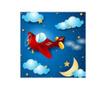 Night Plane Kép 45x45 cm