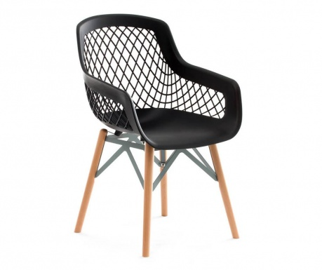 Stolica Minimalist Black