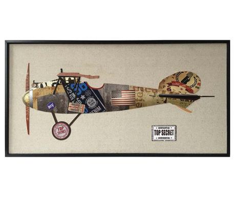 Картина Plane 42x82 см