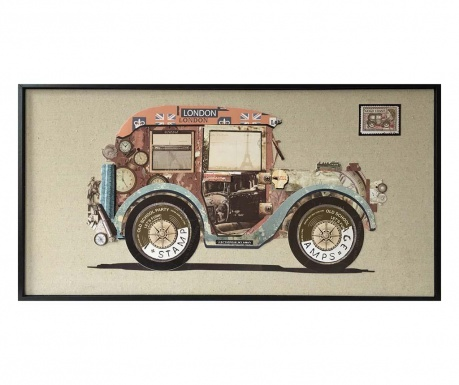 Tablou Old Car 42x82 cm