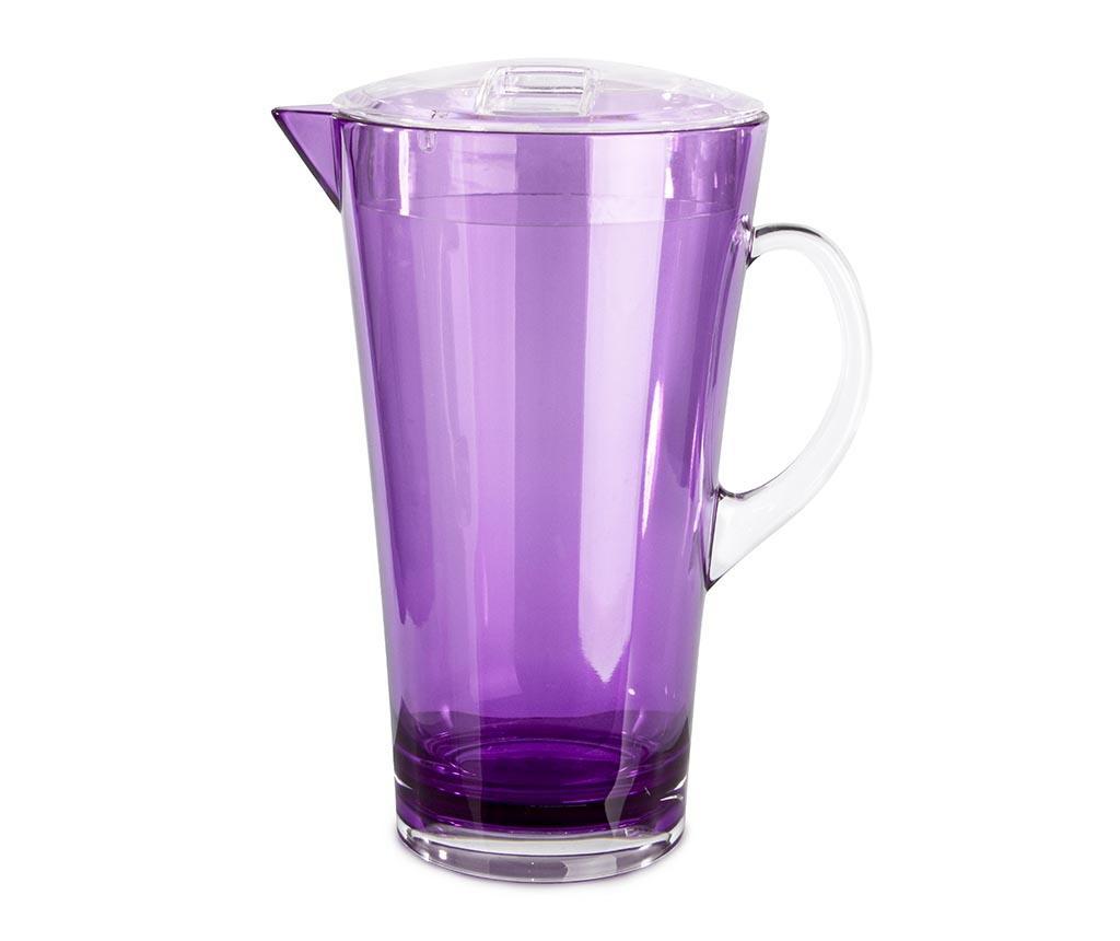 Vrč s pokrovom Shine Purple