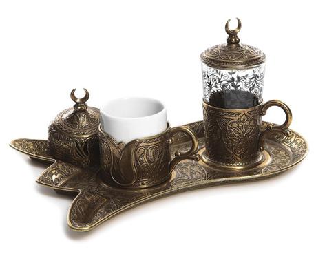 Сервиз за кафе 5 части Serim Old Gold