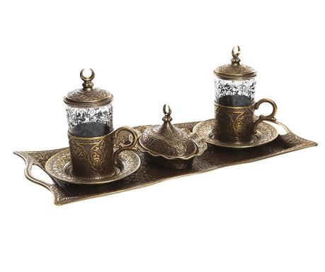 Сервиз за кафе 9 части Khali Old Gold