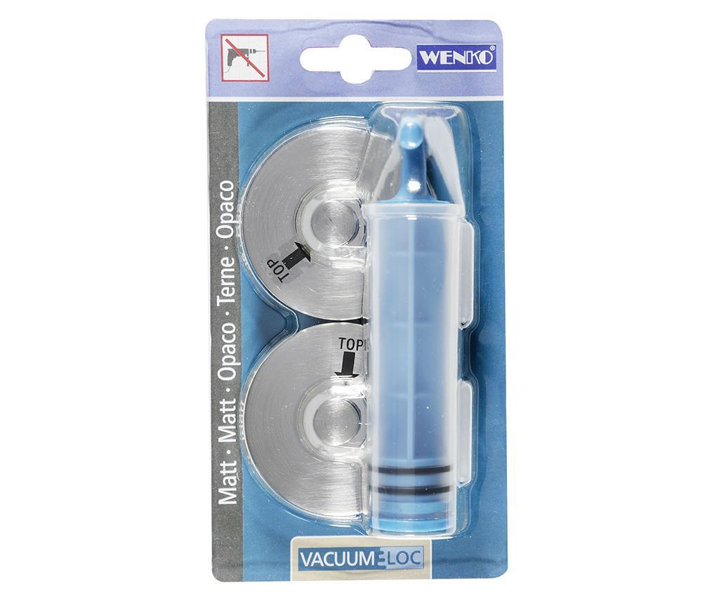 Set 2 ventuze si pompa pentru fixare Vacuum-Loc
