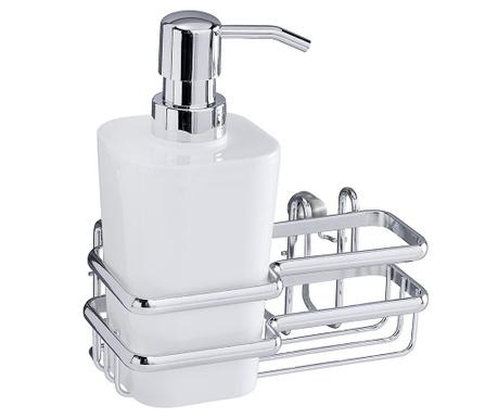 Dozator za tekući deterdžent za posuđe i držač Style