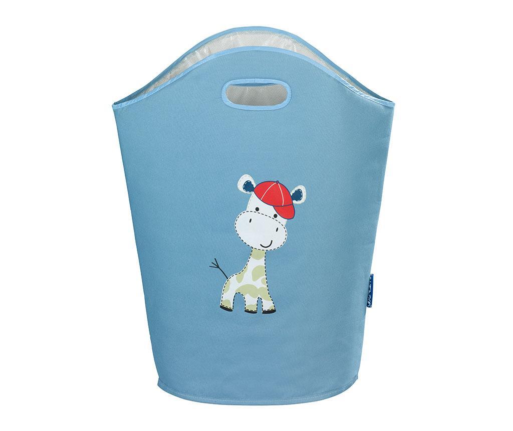 Baby Giraffe Blue Szennyestartó táska 24 L