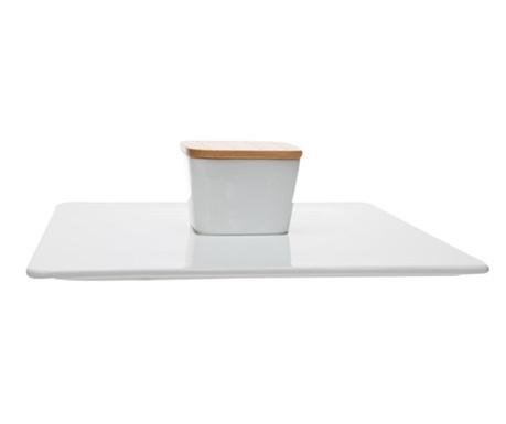 Комплект купа с капак и плато Honshu White