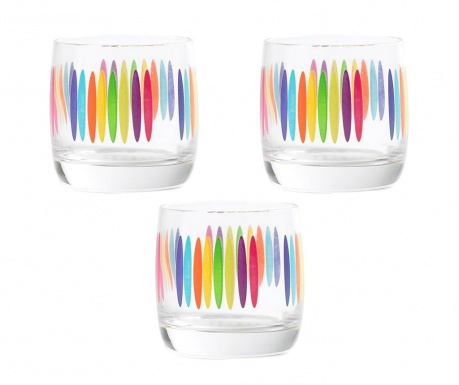 Set 3 kozarcev Fizz Tumbler 310 ml