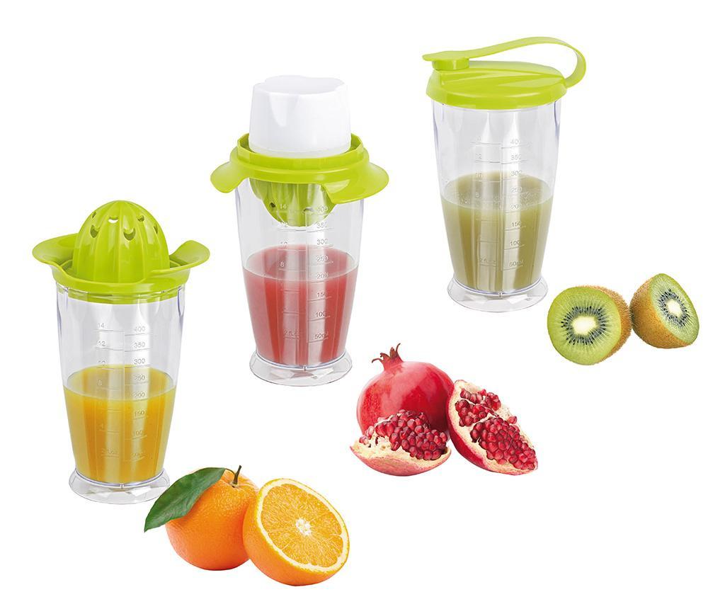Storcator de fructe 3in1 Fresh Fruits 400 ml