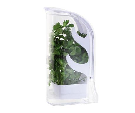 Set shranjevalna posoda in škarje za začimbe Fresh Herbs