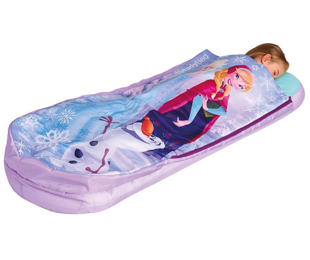 Pat gonflabil pentru copii Frozen 62x150 cm