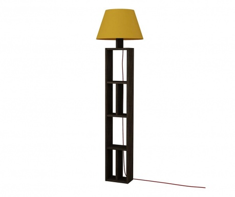 Lampadar Giorno Dark Wenge Yellow