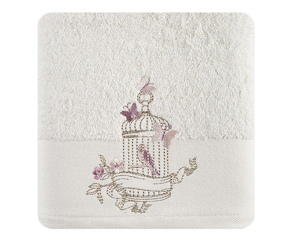 Kopalniška brisača Marisa Cream 70x140 cm
