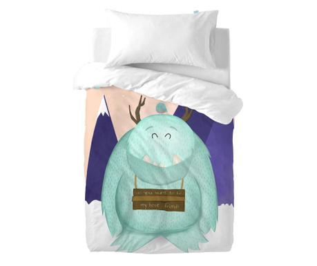 Posteljnina za otroško posteljico Yeti Uni