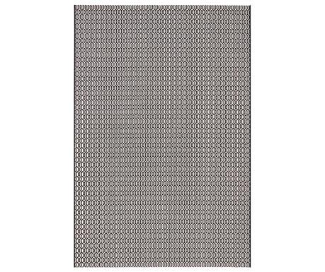 Venkovní koberec Meadow Coin Black