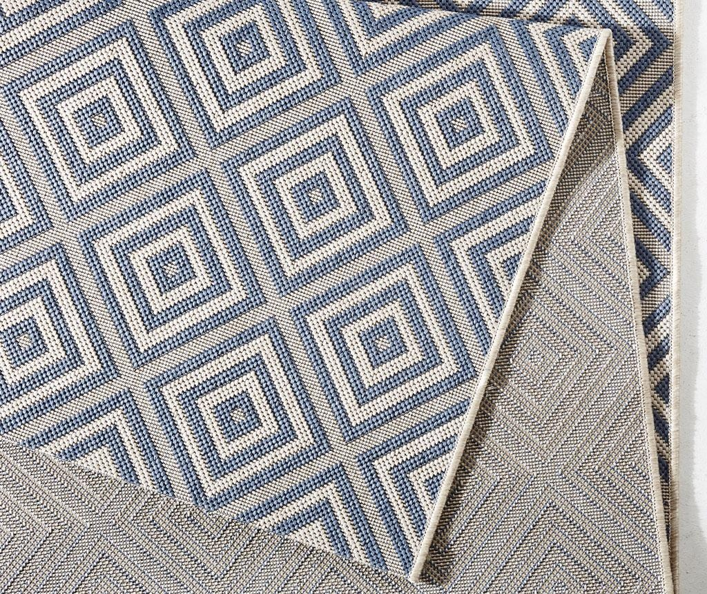 Covor de exterior Meadow Karo Blue 80x150 cm