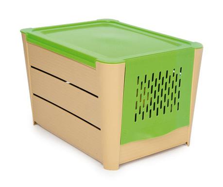 Cutie cu capac pentru depozitare legume Holder