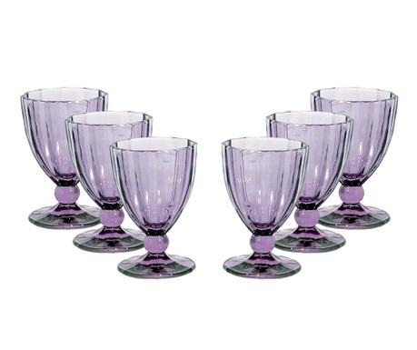 Anais Purple 6 db Talpas pohár 420 ml