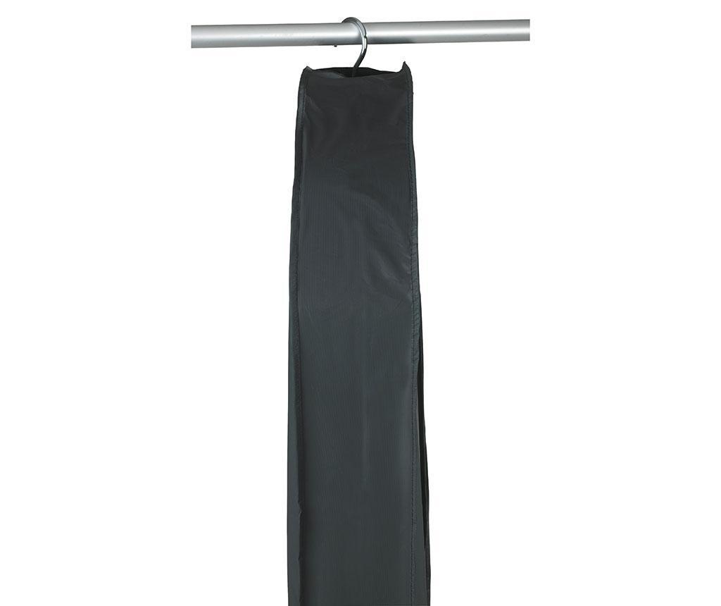 Husa pentru haine Deep Black 60x135 cm