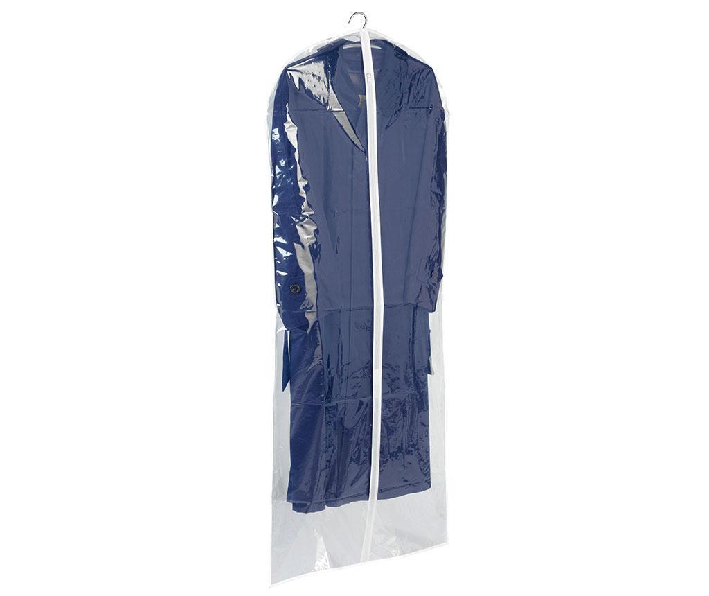Husa pentru haine Transparent 60x150 cm