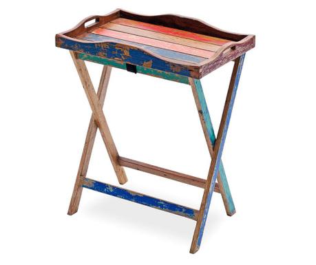 Exteriérový stolík s podnosom Seriata